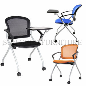 Low Price Office Mesh Executive Stackable Training Tablet Chair (SZ-TC002) pictures & photos
