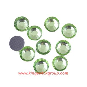 Amazing Ss48 Peridot Korean Crystal Hotfix Rhinestone, Leadfree Hotfix Crystal for Children Garment pictures & photos