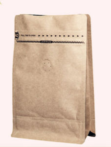 Kraft Paper Bag with Window, Stand up Zipper Food Bag pictures & photos