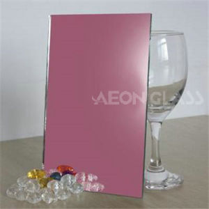 4mm, 5mm, 6mm Pink Float Silver Mirror Glass pictures & photos