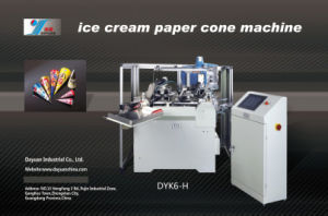 Ice Cream Cone Paper Cup Machine (DYK6-B) pictures & photos