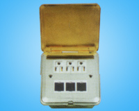 Floor Socket with 3PCS Computer Power Sockets and 3PCS Avaya Keystone Sockets (HLD-8)