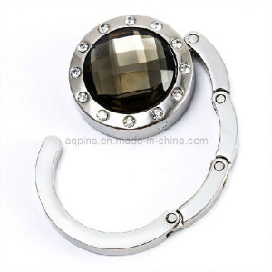 Fashion Crystal Handbag Hook with Diamond (bag hanger-03) pictures & photos