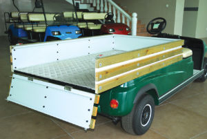 4 Wheels Electric Baggage Transport Cart pictures & photos