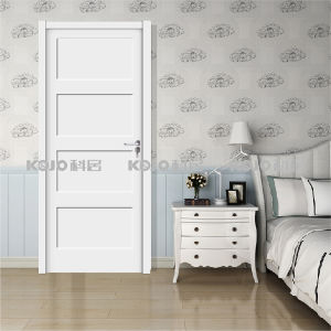 Fire-Resistant Eco-Friendly Soundproof WPC Interior Door for Bedroom (YM-068) pictures & photos