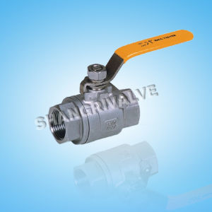 Threaded 2-PC Ball Valve (Type: Q11F)