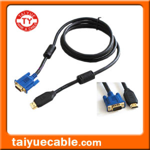HDMI to VGA Cable, Male/Male pictures & photos