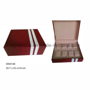 Square Watch Box with 8 Slots (SW0136)