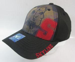 Fashion Black Cotton Baseball Caps with Printing Logo pictures & photos