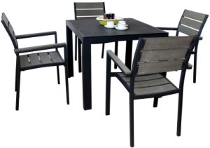 Wholesale Modern Polywood Outdoor Dining Set (PWC-352) pictures & photos