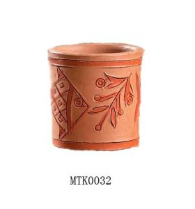 Terracotta Pen Holder (MTK0032)