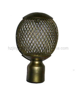 19mm Curtain Finial (B-19138)
