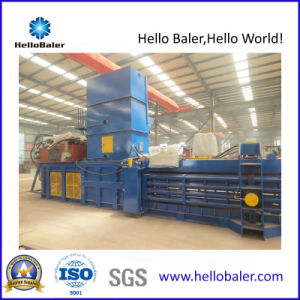 Automatic Hydraulic Horizontal Scrap Baler with PLC (HFA10-14) pictures & photos