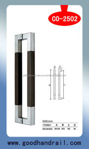 Wood Pull Handle (CO-2502) /Door Handle/Glass System pictures & photos
