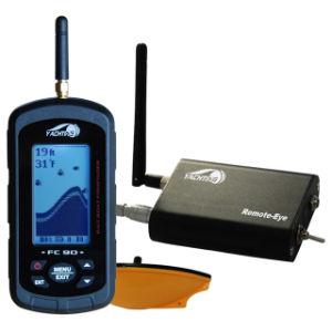 Baitboat Fishfinder FC90-Monitor Voltage, 300m RC distance