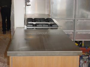 Stainless Steel Kitchen Cabinet Countertop