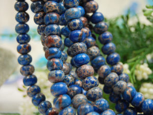 Sea Sediment Jasper 7*10mm Roundel Beads
