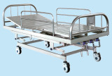 Stainless Steel 3 Function Manual Hospital Bed pictures & photos