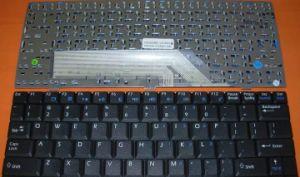 Laptop Keyboard Layout for Msi (Us U100) Black