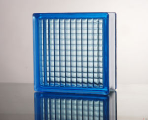 Clear/Coloured Patterned Building Glass Block/Brick pictures & photos