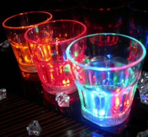 Flashing Liquid Activated Shot Glass/Mug
