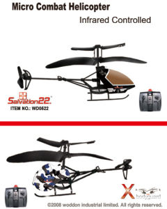 Toy 2CH IR Mirco Helicopter-0522
