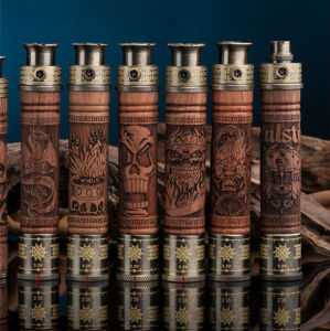 Hot Selling Classical 1100mAh Wood X Fire Battery, Variable Voltage E Cigarette E Fire Battery