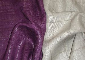 Ramie Jacquard with Golden-Plating (NR002)