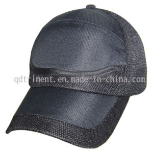 Polyester Microfiber Breathable Mesh Golf Sport Baseball Cap (TRNR082) pictures & photos
