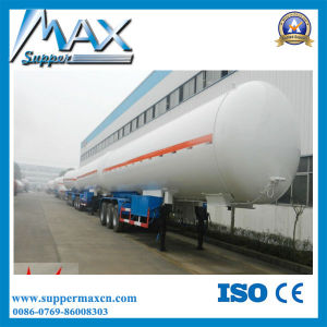 40 Cbm to 60 Cbm Butadiene LPG Tank Semi Trailer, 17 Tons to 30 Tons Ammonia Isobutane LPG Tank Semi Trailer pictures & photos