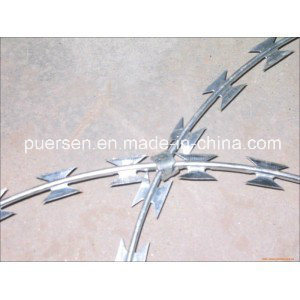 Galvanized Surface Treatment Razor Barbed Wire pictures & photos