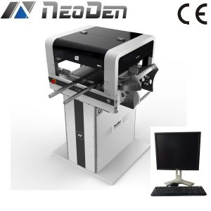 Vision Pick and Place Machine Neoden 4 with Vibration Feeder pictures & photos
