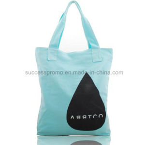 Fashion Style Organic Recyclable Shopping Cotton Canvas Tote Bag pictures & photos
