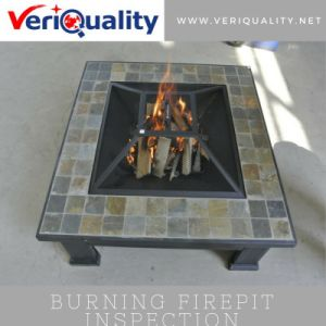 Burning Firepit Quality Control Inspection Service at Yixing, Jiangsu pictures & photos