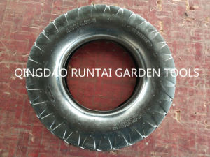 Qingdao Supply High Quality Block Pattern Cheap Tire and Tube (4.00-8) pictures & photos