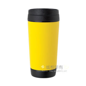 Yellow Color Plastic Coffee Tumbler pictures & photos