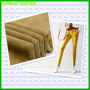 14W Corduroy 100%Cotton Fabric for Garment (900-055)