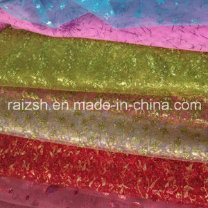 Wedding Gauze Fabric, High Quality Environmental Protection Glitter Fabric pictures & photos