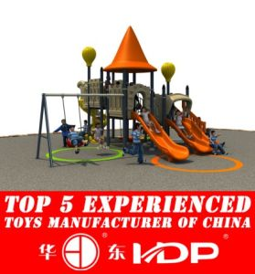 Huadong European and Korea Style Kids′ Slide Amusement Park (HD14-108A) pictures & photos