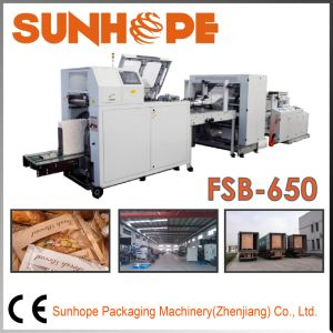 Fsb650 Full-Servo Automatic Flat&Square Paper Bag Machine pictures & photos