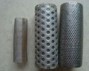 Stainless Steel Perforated Screen Tube pictures & photos
