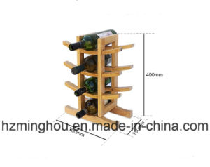 Creative Hottest Wooden Holder 12 Bottle Wine Rack pictures & photos