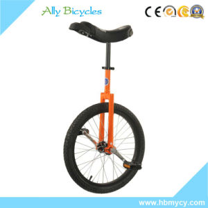 Custom Kids One Wheel Circus Bicycle 16 Inch Wheel Unicycle pictures & photos