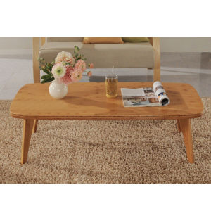 Furniture Natural Bamboo Rectangle Tea Coffee Table pictures & photos