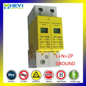 Ly5-D20 420V 20ka 4pole Surge Suppressor Lightning Surge Protector Lightning Arrester pictures & photos