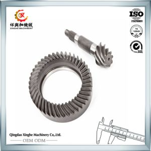 High Quality Straight Teethed Cast Steel Bevel Gear pictures & photos