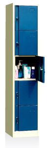 1-6 Tier Steel Locker, Safe Locker, Cabinet Locker pictures & photos