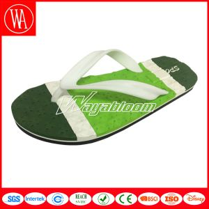 Outdoors Beach Flip Flops, Printing Slippers for Men