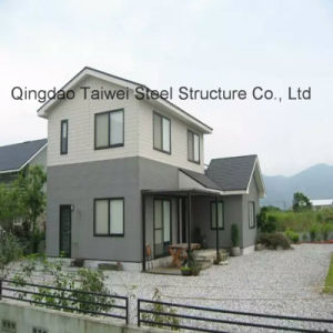 Light Steel Keel Prefabricated House with Two Floors pictures & photos