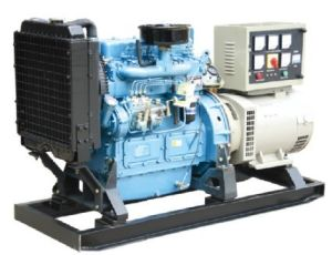 Water Cooled Chinese Engine Diesel Generator (20KW, 24KW) pictures & photos